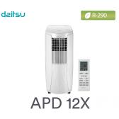 Climatiseur mobile APD 12X de DAITSU