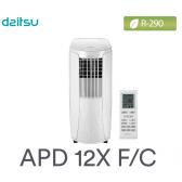 Climatiseur mobile APD-12X F/C de DAITSU