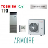 Toshiba ARMOIRE Digital Inverter RAV-RM1401FT-ES triphasé