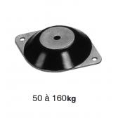 Amortisseur en caoutchouc et métal B105/60