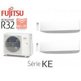 Fujitsu Bi-Split Mural AOY50MI-KB + 2 ASY25MI-KE