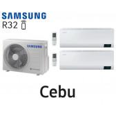 Samsung Cebu Bi-Split AJ040TXJ2KG + 2 AR07TXFYAWKN