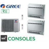 GREE Bi-split CONSOLES FM 21 + 1 FM CNS 9 + 1 FM CNS 12