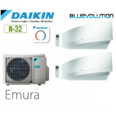 Daikin Emura Bisplit 2MXM40N + 2 FTXJ20MW - R32