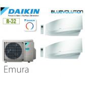 Daikin Emura Bisplit 2MXM50N + 2 FTXJ25MW - R32