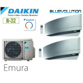 Daikin Emura Bisplit 2MXM68N + 2 FTXJ35MS - R32