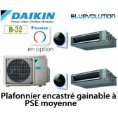 Daikin Gainable haute pression Bisplit 2MXM68N + 2 FBA35A9 - R32