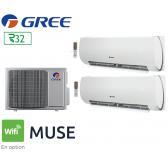 GREE Bi-split MUSE FM 14 + 2 FM MUSE 7