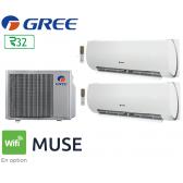GREE Bi-split MUSE FM 21 + 1 FM MUSE 9 + 1 FM MUSE 12