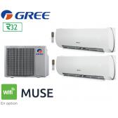 GREE Bi-split MUSE FM 24 + 1 FM MUSE 9 + 1 FM MUSE 18