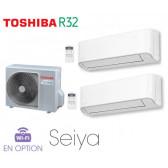 Toshiba Seiya Bi-Split  RAS-2M18U2AVG-E + 1 RAS-B07J2KVG-E + 1 RAS-B13J2KVG-E
