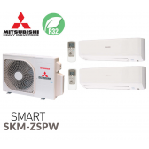 Mitsubishi Heavy Industries Bi-split SMART SCM40ZS-W + 2 SKM20ZSP-W