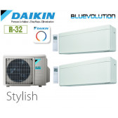 Daikin Stylish Bisplit 2MXM68N + 1 FTXA20AW + 1 FTXA50AW - R32