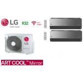LG Bi-Split ARTCOOL MIRROR MU2R17.UL0 + 1 X AM07BP.NSJ + 1 X AC09BQ.NSJ
