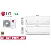 LG Bi-Split Deluxe Pure Air MU3R21.U21 + 1 AP09RT.NSJ + 1 AP12RT.NSJ