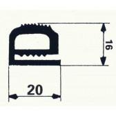 BOURRELET SILICONE GRIS ANTHRACITE Nº 1420339 en 10 m