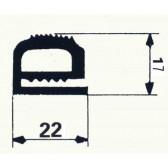 BOURRELET SILICONE GRIS ANTHRACITE Nº 1420342 en 10 m