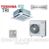 Toshiba Cassette 4-Voies 840X840 STANDARD SDI RAV-RM1401UTP-E triphasé
