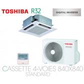 Toshiba Cassette 4-Voies 840X840 STANDARD DI RAV-RM901UTP-E