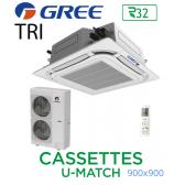 GREE Cassete U-MATCH 900x900 UM CST 60 3PH R32