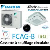 Daikin Cassette 8 voies «Round Flow» Advance FCAG71B monophasé