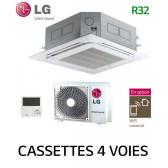 LG Cassette 4 voies Inverter CT12R.NR0 - UU12WR.UL0