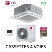 LG Cassette 4 voies DUAL VANE Inverter UT30F.NB0 - UUC1.U40
