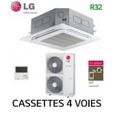 LG Cassette 4 voies DUAL VANE Inverter UT42F.NA0 - UUD1.U30