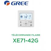 Télécommande filaire XE71-42G de Gree