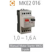 Démarreur de moteur manuel MKE2 016 de Condor
