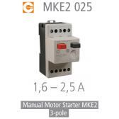 Démarreur de moteur manuel MKE2 025 de Condor