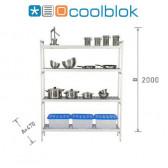 Ensemble Rayonnage Modulaire Coolblok - 470 mm X 2000 mm hauteur