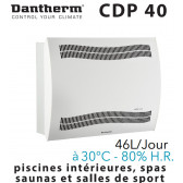 Déshumidificateur mural CDP 40 de DANTHERM