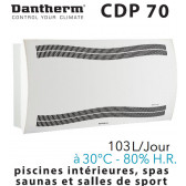 Déshumidificateur mural CDP 70 de DANTHERM