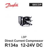 Compresseur Danfoss / Secop BD80F - R134A, 12-24V DC, avec MODULE