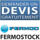 """Rayonnages à clayettes amovibles """"Fermostock"""" de Fermod"""