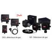 Détecteurs de gaz GD et DGS de Danfoss