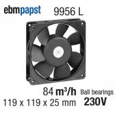 Ventilateur Axial 9956L de EBM-PAPST