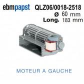 Ventilateur Tangentiel QLZ06/0018-2518 de EBM-PAPST