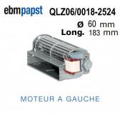 Ventilateur Tangentiel QLZ06/0018-2524 de EBM-PAPST