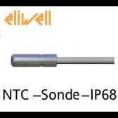 "Sonde NTC - IP68 ""Eliwell"" gris 1.5 m - SN8DAE11502C0"