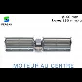 Ventilateur double Tangentiel TGD 60/1-180/30 de Fergas