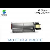 Ventilateur Tangentiel TGA 60/1-240/20 de Fergas