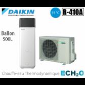 Chauffe-eau thermodynamique Daikin ECH2O ERWQ02AV3 + EKHHP500A2V3
