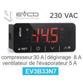 Régulateur digital EV3B33N7 de Every Control