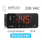 Régulateur digital EV3X21N7 de Every Control