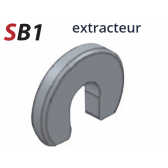 "Outil extracteur pour raccord rapide 1/4"""
