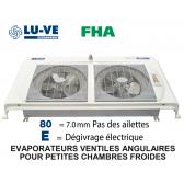 Evaporateur angulaire FHA 35 E80 de LU-VE - 2730 W