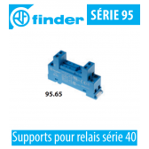 Support pour relais série 40 - 95.65.SMA de Finder