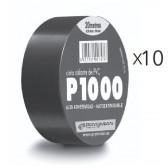 Lot de 10 Rubans adhésif électriques 20 m X 19 mm X 0.13 mm